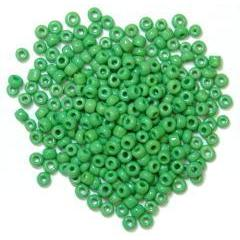 Green Seed Beads - Hobby & Crafts