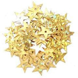 Gold Hologram Stars - Hobby & Crafts