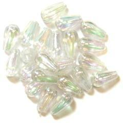 Aurora Oval Drop Pearls - Hobby & Crafts