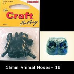 Minicraft Animal/Dog Nose 15mm - Hobby & Crafts