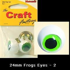 Minicraft Frog Eyes: 24mm - Hobby & Crafts