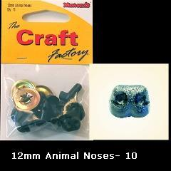 Minicraft Animal/Dog Nose 12mm - Hobby & Crafts