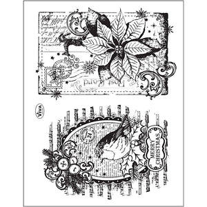Viva Decor Transparent Silicone Christmas Card Motives Stamp Sheet To Paint Decorate Crafts