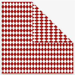 Origami Paper, size 15x15 cm, 80g, red, 40 sheets