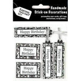 Express Yourself DIY Handmade Stick On Decoration - Birthday Caption Banners - Hobby & Crafts