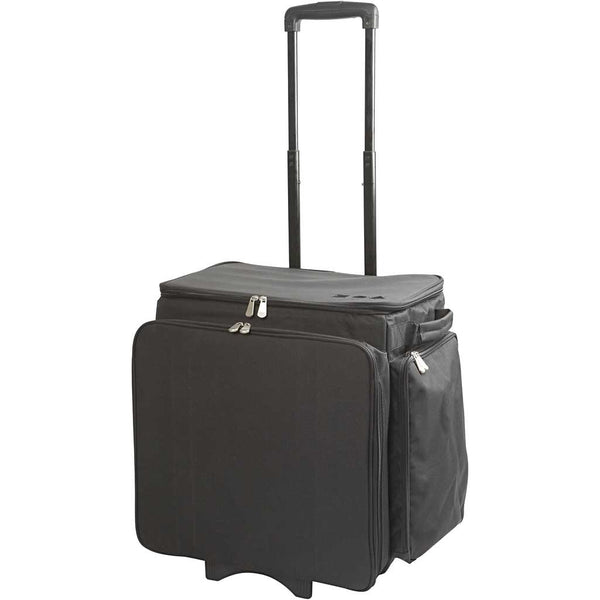 Professional Artists Crafter Trolley Bag Fits A3 Heavy Duty Ample Pockets Adjustable Handle - Hobby & Crafts