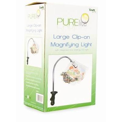 CFPL01 - PURElite Clip-on Magnifying Light - Hobby & Crafts