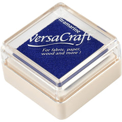 VersaCraft Ultra Marine Ink Pad Textile Fabric Paper Cardboard Stamp - Hobby & Crafts