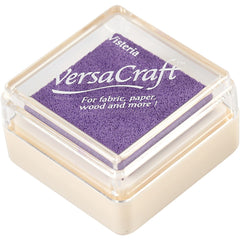 VersaCraft Wisteria Ink Pad Textile Fabric Paper Cardboard Stamp - Hobby & Crafts