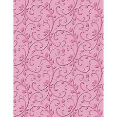 Craft Concept Embossing Folder For Cuttlebug Sizzix Machines - Budding Vine - Hobby & Crafts