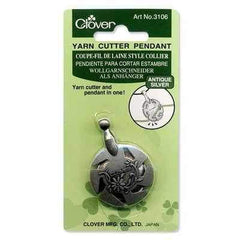 CL3106 -Yarn Cutter Pendant/Antique Silver - Hobby & Crafts