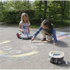 6 x Children Sidewalk Jumbo Chalk Assorted Colours Hopscotch Lines Drawing