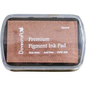 DOVECRAFT Fast Drying Premium Pigment Ink Pads For Stamping - Natural - Hobby & Crafts