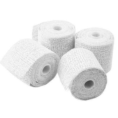 10m Plaster Bandage 5cm Wide 4 Rolls Moulding Modelling Flexible Craft - Hobby & Crafts