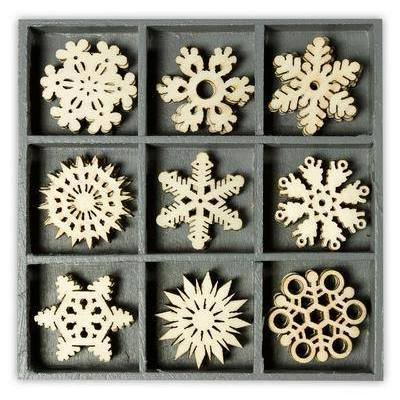Wooden Decorations Embellishments Toppers - Crystal Ornaments - Hobby & Crafts