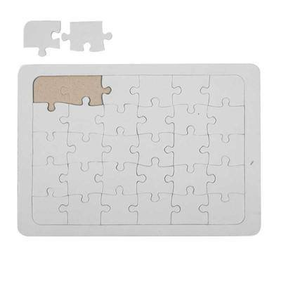 A5 Jigsaw Puzzle Draw/Paint/Colour Make Your Own Design Pieces Personalised Gift - Hobby & Crafts