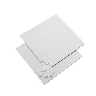 3D 400 Sticky Pads 5mm x 2mm Thick Double-Sided Adhesive Foam Card Making Craft - Hobby & Crafts