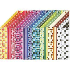 16 x A4 Card Stock Assorted Designs Double Sided Making Scrapbooking Craft 250g - Hobby & Crafts