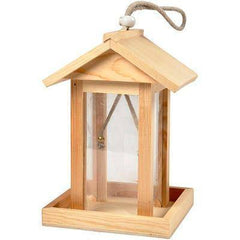 14.5cm Pine Wooden Bird House Feeder Craft Hanging Decorate/Paint Design Create - Hobby & Crafts