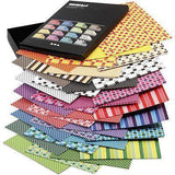 160 x A4 Card Stock Assorted Designs Double Sided Making Scrapbooking Craft 250g - Hobby & Crafts