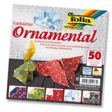 Origami Paper Assorted Double Sided 50 Sheets 15x15cm - Ornamental - Hobby & Crafts