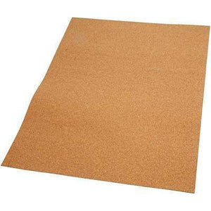 4 x Real Cork Plate 2mm Sheet Easy to Cut Craft Paper - Hobby & Crafts