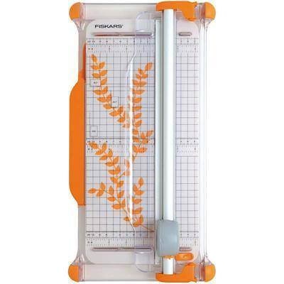 Fiskars A4 Guillotine Rotary Cutter & Ruler Paper/Card Trimmer Acute/Precision - F9908 - Hobby & Crafts