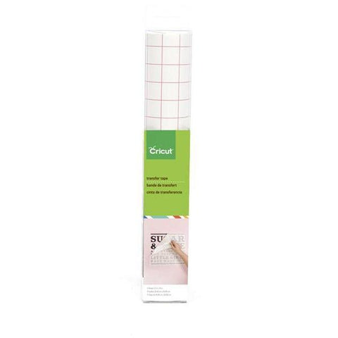 Cricut Vinyl Light Printed Transfer Tape Sheet 12x48 - Hobby & Crafts