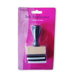 Crafts Too Ink Appicator Tool With Two Foams For Craft Paint Decoration - Hobby & Crafts