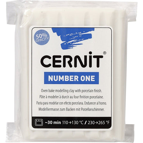 Cernit 56g Modelling Clay Oven Harden Porcelain Finish Assorted Colour Crafts