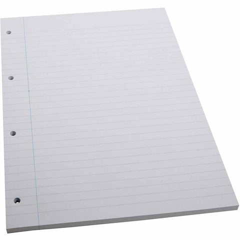 A4 x 100 Sheets Lined Paper School Writing Drawing Pad Art/Craft - Hobby & Crafts