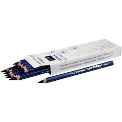 12 x Lyra Super Ferby Triangular Shaped Dark Blue Colour Pencils 18 cm - Hobby & Crafts