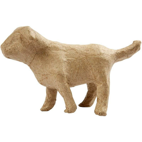 8cm Dog Pet Shaped Craft Paper Mache Make Your Own Decoration Model Art - Hobby & Crafts