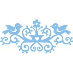LR0170 - Marianne Creatables Stencil Die Cutting Embossing Sizzix - Elines Folklore - Hobby & Crafts