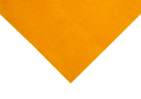 The Craft Factory Acrylic Felt With Sticky Back  x 1 - Gold - Hobby & Crafts