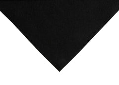 The Craft Factory Acrylic Felt With Sticky Back  x 1 - Black - Hobby & Crafts