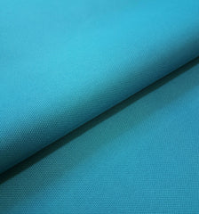 PU Coated Polyester Woven Waterproof Tough Durable Fabric Select Size - AQUA