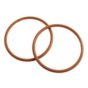 Pair Of Bag Handle For Bag Making Round: 4.5 inches - Light Brown - Hobby & Crafts
