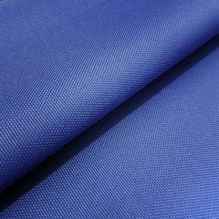 PU Coated Polyester Woven Waterproof Tough Durable Fabric Select Size - BLUE