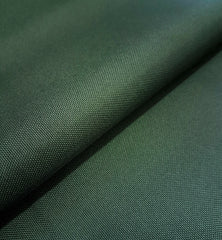 PU Coated Polyester Woven Waterproof Tough Durable Fabric Select Size - BOTTLE GREEN