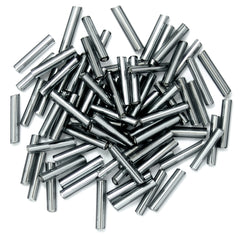 Craft Factory Long Bugle Glass Beads For Jewellery, Knitting, Sewing - 9mm  Metal - Hobby & Crafts