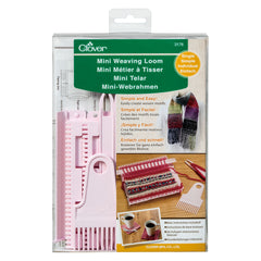 Clover Mini Weaving Loom Set Warp Settings Full Instructions