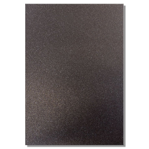 A4 Dovecraft Glitter Card Sheet Card Making 220gsm - Jet Black - Hobby & Crafts
