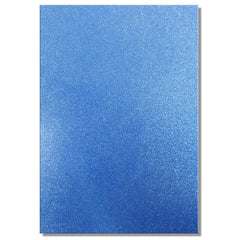A4 Dovecraft Glitter Card Sheet Card Making 220gsm - Blue - Hobby & Crafts