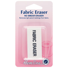 Hemline Light Fabric Marker White Colour Eraser Hand Sewing Accessories - Hobby & Crafts
