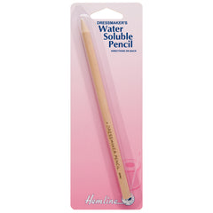 Hemline White Colour Water Soluble Fabric Marker Pencil Dressmaking Hand Sewing - Hobby & Crafts