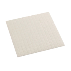 Hi Tack 2mm Foam Pads 7 x 7mm Square - White - Hobby & Crafts