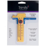 Trimits Rotary Compass Circle Cutter For Quilting - Hobby & Crafts