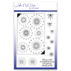 Crafts Too A5 Clear Stamps Daisy Flower Design Card Making Scrapbooking Crafts - Hobby & Crafts