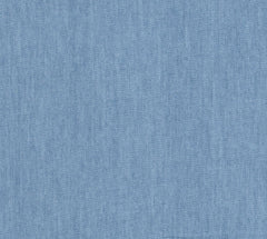 Light Blue 4oz Lightweight Plain Washed Denim Cotton Fabric Select Size